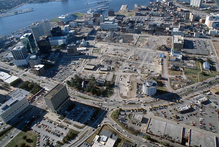 1996 December 20..Redevelopment..Macarthur Center.Downtown North (R-8)..LOOKING WEST..NEG#.NRHA#..
