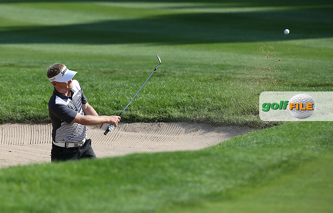 S?ren Kjeldsen (DEN) from the green-side bunker on the 10th during Round Two of the 2015 BMW International Open at Golfclub Munchen Eichenried, Eichenried, Munich, Germany. 26/06/2015. Picture David Lloyd | www.golffile.ie