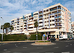 Apartment housing Melilla autonomous city state Spanish territory in north Africa, Spain