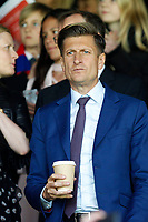 Crystal Palace owner Steve Parrish seen during the EPL - Premier League match between Crystal Palace and West Bromwich Albion at Selhurst Park, London, England on 13 May 2018. Photo by Carlton Myrie / PRiME Media Images.
