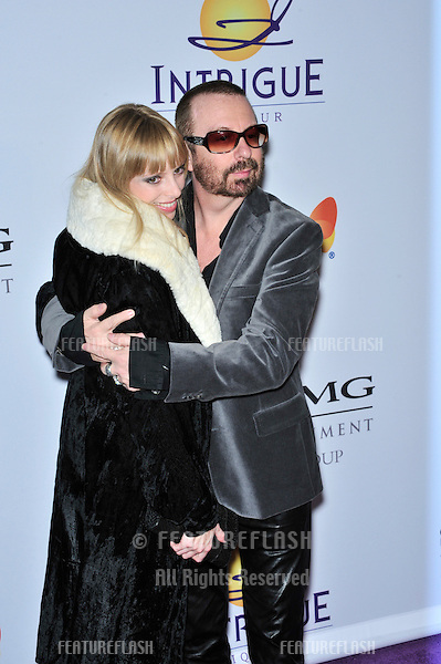 Dave Stewart & Anoushka Fisz at music mogul Clive Davis' annual pre-Grammy party at the Beverly Hilton Hotel..February 9, 2008  Los Angeles, CA.Picture: Paul Smith / Featureflash
