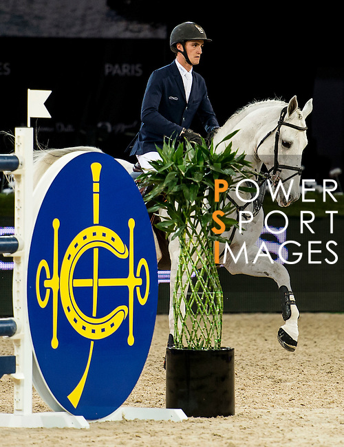 Olivier Philippaerts of Belgium riding Cabrio van de Heffinck in action during the Hong Kong Jockey Club Trophy competition as part of the Longines Hong Kong Masters on 13 February 2015, at the Asia World Expo, outskirts Hong Kong, China. Photo by Li Man Yuen / Power Sport Images