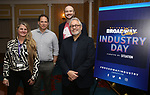 Bonnie Comley, Kurt Deutsch, Lee Seymour and Charles Flateman attends Industry Day during Broadwaycon at New York Hilton Midtown on January 11, 2019 in New York City.