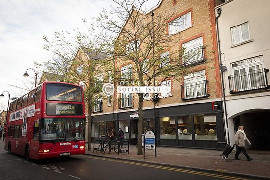 Shopping in Uxbridge, London Borough of Hillingdon, West London UK