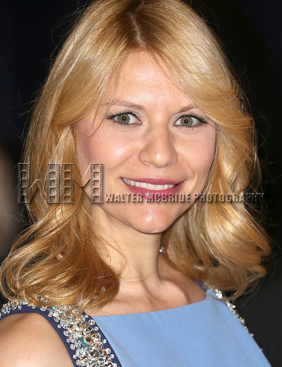 Claire Danes  attending the  2013 White House Correspondents' Association Dinner at the Washington Hilton Hotel in Washington, DC on 4/27/2013