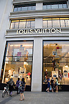 Louis Vuitton Shop, Champs Elysees, Paris, France