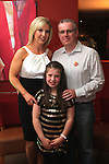 Jason Connor with his wife Jennifer and daughter Leah at his 40th in Harry's...(Photo credit should read Jenny Matthews www.newsfile.ie)....This Picture has been sent you under the conditions enclosed by:.Newsfile Ltd..The Studio,.Millmount Abbey,.Drogheda,.Co Meath..Ireland..Tel: +353(0)41-9871240.Fax: +353(0)41-9871260.GSM: +353(0)86-2500958.email: pictures@newsfile.ie.www.newsfile.ie.