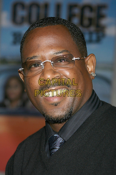 "MARTIN LAWRENCE.""College Road Trip"" - World Premiere held at El Capitan Theatre, Hollywood, California, USA, 03 March 2008 .portrait headshot glasses.CAP/ADM/RE.?Russ Elliot/Admedia/Capital PIctures"