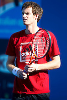 Andy Murray practicing at Melbourne Park..International Tennis - Australian Open  -  Melbourne Park - Melbourne - Day 13 - Sat 29th January 2011..© Frey - AMN Images, Level 1, Barry House, 20-22 Worple Road, London, SW19 4DH.Tel - +44 208 947 0100.Email - Mfrey@advantagemedianet.com.Web - www.amnimages.photshelter.com
