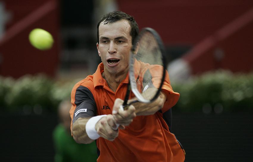 Photo: Barry Bland..Madrid Masters. 19/10/2005..Radek Stepanek.