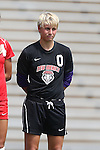 01 September 2013: New Mexico's Cassie Ulrich. The Duke University Blue Devils played the University of New Mexico Lobos at Fetzer Field in Chapel Hill, NC in a 2013 NCAA Division I Women's Soccer match. Duke won the game 1-0.