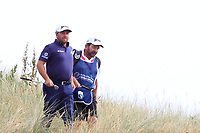 Graeme McDowell (NIR) on the 7th during Round 3 of the Dubai Duty Free Irish Open at Ballyliffin Golf Club, Donegal on Saturday 7th July 2018.<br /> Picture:  Thos Caffrey / Golffile