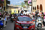 The start of Stage 16 of the 100th edition of the Giro d'Italia 2017, running 222km from Rovetta to Bormio, Italy. 23rd May 2017.<br /> Picture: LaPresse/Fabio Ferrari | Cyclefile<br /> <br /> <br /> All photos usage must carry mandatory copyright credit (&copy; Cyclefile | LaPresse/Fabio Ferrari)