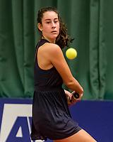 Wateringen, The Netherlands, November 27 2019, De Rhijenhof , NOJK 12 and16 years,   Vera Schuurmans (NED)<br /> Photo: www.tennisimages.com/Henk Koster