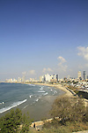 Israel, a view of Tel Aviv from Jaffa