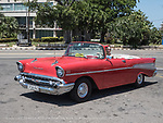 1957 Chevy near Jose Marti Memorial