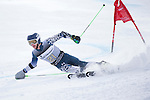 09 MAR 2016:  Bryan Cookson (21) of the University of New Hampshire competes in the giant slalom during the NCAA Division I Men's and Women's Skiing Championships take place at the Steamboat Ski Resort in Steamboat Springs, CO.  Jamie Schwaberow/NCAA Photos