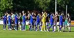 19.07.2017, Sportplatz, Grassau, GER, FSP, FSV Mainz 05 vs FC Tokyo, im Bild beide Mannschaften vor Spielbeginn<br /> <br /> Foto &copy; nordphoto / Hafner