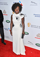 BEVERLY HILLS, CA. October 26, 2018: Viola Davis at the 2018 British Academy Britannia Awards at the Beverly Hilton Hotel.<br /> Picture: Paul Smith/Featureflash