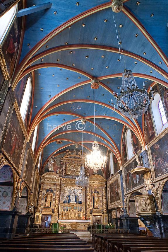 France, Aquitaine, Pyrénées-Atlantiques (64), Lestelle-Bétharram, la chapelle marial // France, Aquitaine, Pyrénées-Atlantiques, Lestelle-Bétharram, the Marian chapel