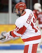 Chris Connolly (BU - 12) - The Boston University Terriers defeated the visiting Harvard University Crimson 5-2 on Saturday, January 15, 2011, at Agganis Arena in Boston, Massachusetts.