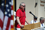 President Chet Burton speaks at a Veterans Suicide Awareness event at Western Nevada College in Carson City, Nev., on Saturday, May 2, 2015.<br /> Photo by Cathleen Allison