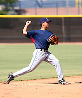 Kevin Fontanez / Cleveland Indians 2008 Instructional League..Photo by:  Bill Mitchell/Four Seam Images