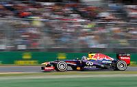 MELBOURNE, AUSTRALIA, 17 MARÇO 2013 - F1 - GP DA AUSTRALIA - O piloto alemao Sebatian Vettel, equipe  Red Bull Racing, durante o GP da Austrália, em Albert Park, Melbourne, neste domingo (17). (FOTO: PIXATHLON / BRAZIL PHOTO PRESS).