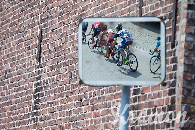 mirrored peloton<br /> <br /> Baloise Belgium Tour 2017 (2.HC)<br /> Stage 5: Tienen - Tongeren 169.6km