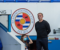 Swansea City manager Steve Cooper  as his team beat Reading 4-1 to earn a place in the play-offs<br /> <br /> Photographer David Horton/CameraSport<br /> <br /> The EFL Sky Bet Championship - Reading v Swansea City - Wednesday July 22nd 2020 - Madejski Stadium - Reading <br /> <br /> World Copyright © 2020 CameraSport. All rights reserved. 43 Linden Ave. Countesthorpe. Leicester. England. LE8 5PG - Tel: +44 (0) 116 277 4147 - admin@camerasport.com - www.camerasport.com