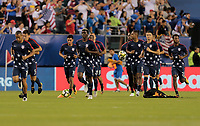 Philadelphia, PA - Wednesday July 19, 2017: USMNT  during a 2017 Gold Cup match between the men's national teams of the United States (USA) and El Salvador (SLV) at Lincoln Financial Field.