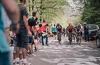 up the C&ocirc;te de la Roche aux Faucons<br /> <br /> 104th Li&egrave;ge - Bastogne - Li&egrave;ge 2018 (1.UWT)<br /> 1 Day Race: Li&egrave;ge - Ans (258km)