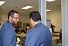 Superintendent Richard Carranza tours the new Milby High School.