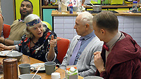 Ann Widdecombe, Wayne Sleep<br /> Celebrity Big Brother 2018 - Day 10<br /> *Editorial Use Only*<br /> CAP/KFS<br /> Image supplied by Capital Pictures