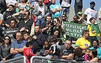 SÃO PAULO,SP, 07.09.2018 - DESFILE 7 SETEMBRO-SP - Desfile Cívico e Militar realizado no Sambódromo do Anhembi, Zona Norte da Capital Paulista, neste 07 de Setembro, dia da Independência do Brasil, 07. (Foto: Paulo Guereta/ Brazil Photo Press)
