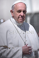 Pope Francis during the Sunday Easter mass 'Urbi et Orbi' (to the city and the world) benediction in Saint Peter's Square at the Vatica. 20 April 2014