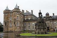 Palace of Hollyroodhouse- The Queen's Official Residence in Scotland.