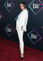 SANTA MONICA - NOVEMBER 11:  Victoria Beckham at the People's Choice Awards 2018 at The Barker Hangar on November 11, 2018 in Santa Monica, California. (Photo by Xavier Collin/PictureGroup)