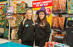 Dealz Fonthill Road . Staff Members . Leagh Creighton and Anastasia Azareva.