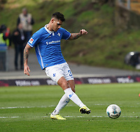Dario Dumic (SV Darmstadt 98) - 07.03.2020: SV Darmstadt 98 vs. VfL Bochum, Stadion am Boellenfalltor, 2. Bundesliga<br /> <br /> DISCLAIMER: <br /> DFL regulations prohibit any use of photographs as image sequences and/or quasi-video.