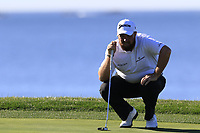 Shane Lowry (IRL) on the 7th green at Pebble Beach course during Friday's Round 2 of the 2018 AT&amp;T Pebble Beach Pro-Am, held over 3 courses Pebble Beach, Spyglass Hill and Monterey, California, USA. 9th February 2018.<br /> Picture: Eoin Clarke | Golffile<br /> <br /> <br /> All photos usage must carry mandatory copyright credit (&copy; Golffile | Eoin Clarke)