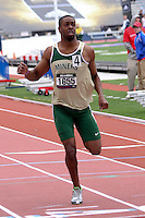 Missouri S&T senior and Jefferson City High School graduate Adriel Hawkins earned 1st-Team All-American honors with his sixth place finish in the 200 meters in 21.67 seconds at the NCAA Division II Indoor Track and Field National Championships, Saturday March 15, in Winston-Salem, NC. On Friday, Hawkins set a school record in the 200 meter prelims in 21.49,and finished 11th in the 60 meters in 6.83 seconds.