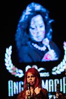 SAO PAULO, SP, 15.07.2019 - SHOW SP - Edith Veiga durante show em homenagem a cantora Ângela Maria, que faria 90 anos em 2019, no teatro Procópio Ferreira, região central de São Paulo na noite desta segunda-feira, 15.(Foto: Ciça Neder/Brazil Photo Press)
