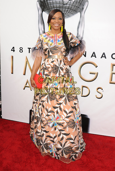 PASADENA, CA - FEBRUARY 11: Actress Tina Lifford arrives at the 48th NAACP Image Awards at Pasadena Civic Auditorium on February 11, 2017 in Pasadena, California.<br /> CAP/ROT/TM<br /> &copy;TM/ROT/Capital Pictures