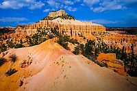 "view on ""hoodoos"" from Fairyland Loop trail, Bryce Canyon National Park, Utah, USA"