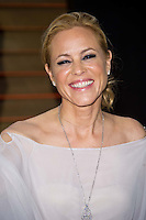 Maria Bello arriving for the 2014 Vanity Fair Oscars Party, Los Angeles. 02/03/2014 Picture by: James McCauley/Featureflash