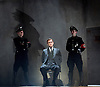 Taken at Midnight by Mark Hayhurst <br /> directed by Jonathan Church <br /> at Theatre Royal Haymarket, London, Great Britain <br /> 16th January 2015 <br /> <br /> <br /> <br /> Martin Hutson as Hans Litten <br /> <br /> <br /> <br /> <br /> Photograph by Elliott Franks <br /> Image licensed to Elliott Franks Photography Services