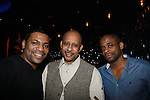 Mekhi Phifer - Ruben Santiago-Hudson & Dulle Hill - Broadway's Stick Fly at the Cort Theatre, New York City, New York with after party at 48 Lounge with Alicia Keys and cast - Ruben Santiago-Hudson, Phylicia Rahad (Santa Barbara and OLTL) - mom of Condola (in cast) along with Tracie Thoms, Dulle Hill (Psych), Mekhi Phifer. (Photo by Sue Coflin/Max Photos)