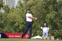 Robert Karlsson (SWE) on the 4th during Round 1 of the Omega Dubai Desert Classic, Emirates Golf Club, Dubai,  United Arab Emirates. 24/01/2019<br /> Picture: Golffile | Thos Caffrey<br /> <br /> <br /> All photo usage must carry mandatory copyright credit (&copy; Golffile | Thos Caffrey)
