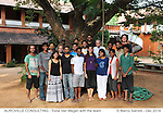 The team of Auroville Consulting. 2014
